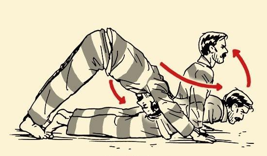 Vazenské cviky - Hindu kľuky