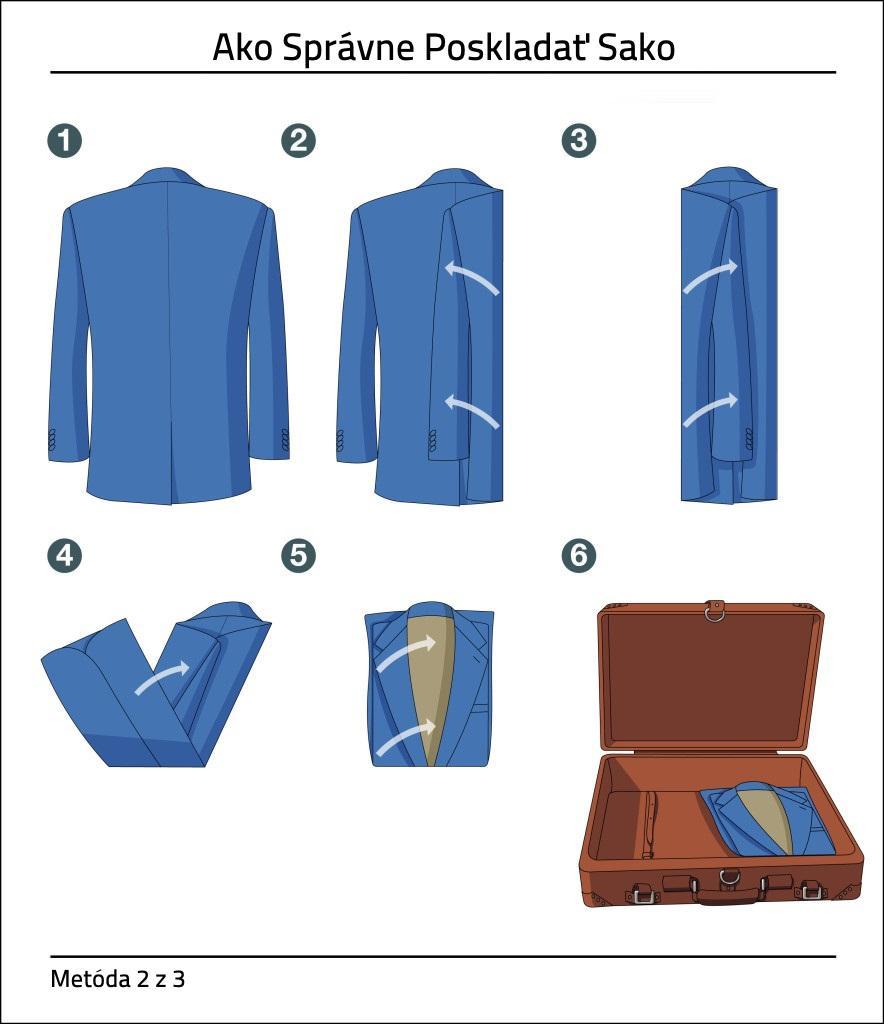 Ako Správne Poskladať Sako How To Fold Suit Jacket