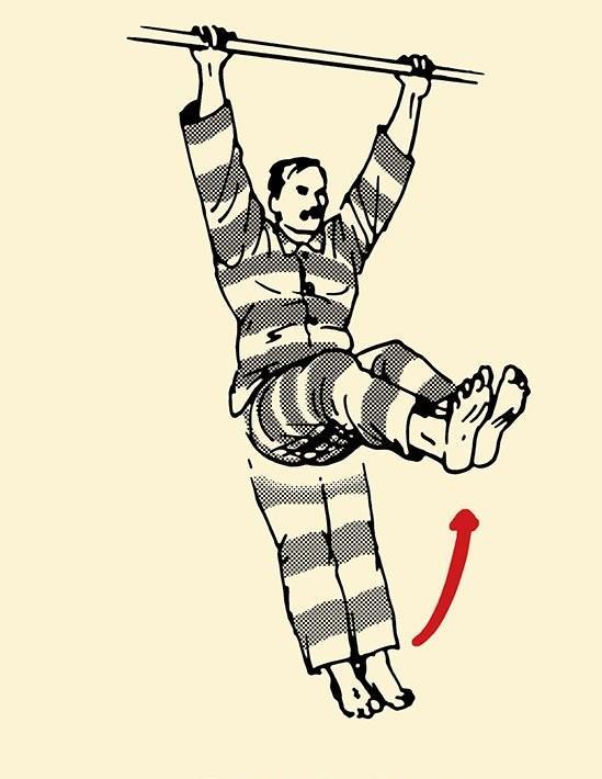 väzenie cviky, Charlesa Salvador Dip
