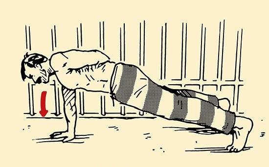 väzenie cviky, Charlesa Salvador